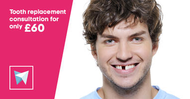 Tooth replacement consultation for only £60