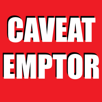 Caveat Sentence Examples